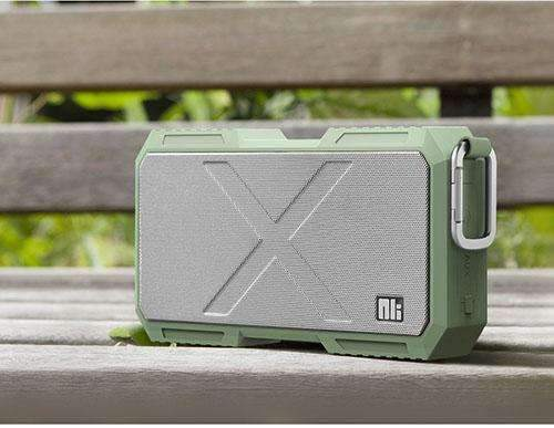 PinKart-USA Online Shopping China / Army Green Nillkin Battery Charger Bluetooth Speaker Portable Waterproof Outdoor Speakers Power Bank For Iphon