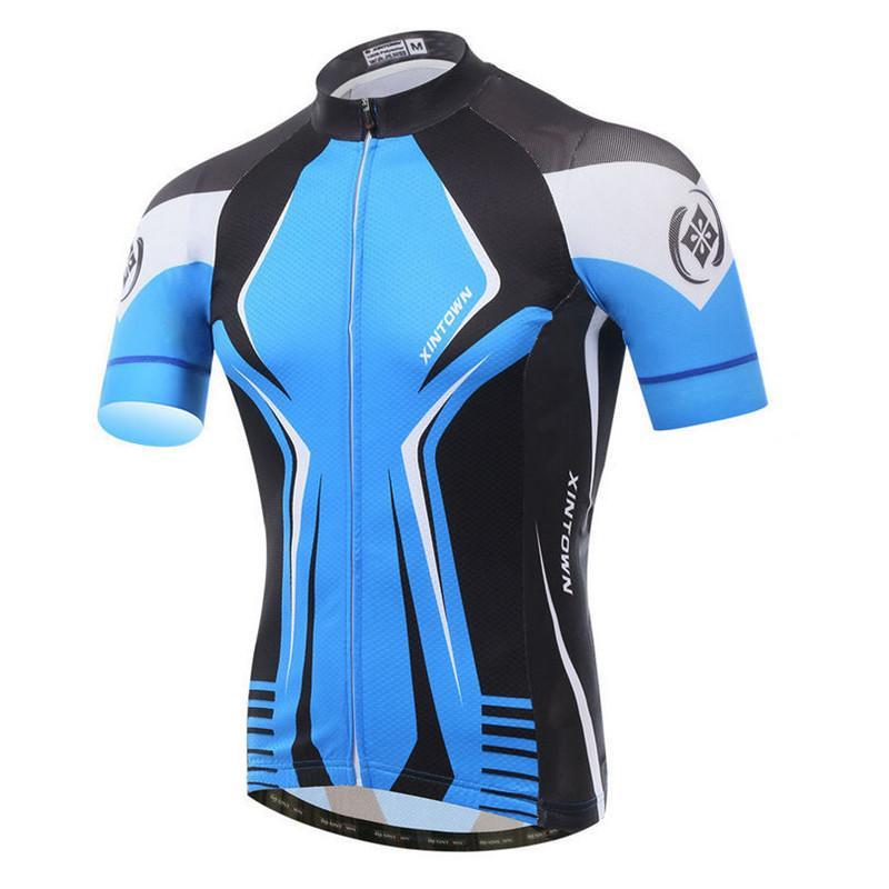 PINkart-USA Online Shopping Ciclismo Men'S Cycling Sport Jersey Bicycle Wear Clothing Short Sleeves Shirt Tops/Bike