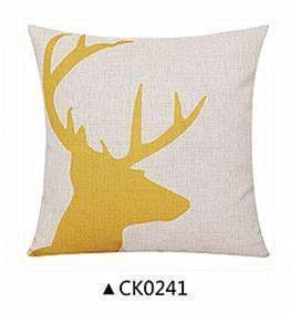 Deer Animals Print Home Decorative Cushion Pillow Room Decors Car Throw Cushion For Seat ,Car ,Sofa