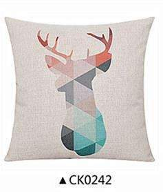 PinKart-USA Online Shopping CK0242 / 30x50cm  cushion Deer Animals Print Home Decorative Cushion Pillow Room Decors Car Throw Cushion For Seat ,Car ,Sofa