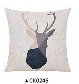 PinKart-USA Online Shopping CK0246 / 30x50cm  cushion Deer Animals Print Home Decorative Cushion Pillow Room Decors Car Throw Cushion For Seat ,Car ,Sofa