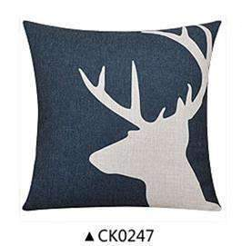 PinKart-USA Online Shopping CK0247 / 30x50cm  cushion Deer Animals Print Home Decorative Cushion Pillow Room Decors Car Throw Cushion For Seat ,Car ,Sofa