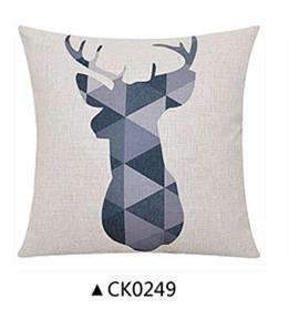 PinKart-USA Online Shopping CK0249 / 30x50cm  cushion Deer Animals Print Home Decorative Cushion Pillow Room Decors Car Throw Cushion For Seat ,Car ,Sofa