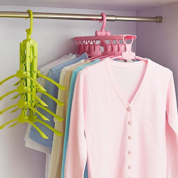 PINkart-USA Online Shopping Clothes Rack Scarf Hanger Decorative Coat Hangers Wall Hangers For Children Magic Dress