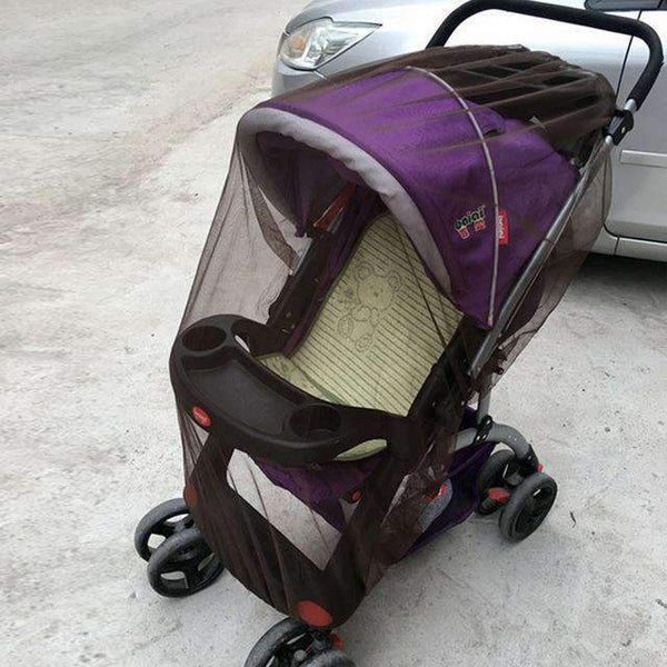 PinKart-USA Online Shopping coffee Baby Stroller Pushchair Mosquito Insect Shield Net Safe Infants Protection Mesh Stroller Accessorie