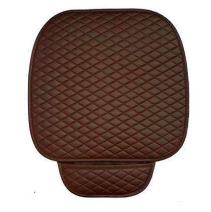 PinKart-USA Online Shopping coffee front 1 pc Gspscn Pu Leather Car Seat Covers Cushion Four Seasons General Car Seat Cushions Car Front