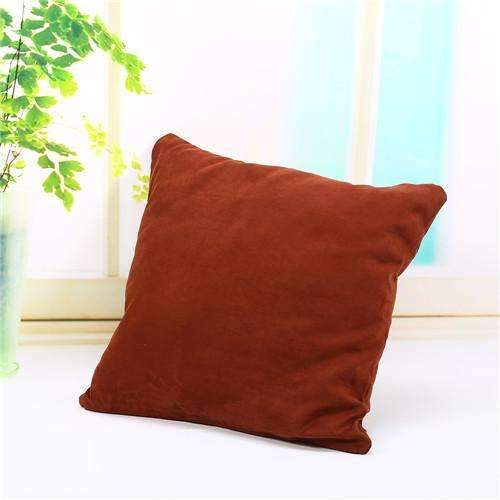 PinKart-USA Online Shopping coffee Pillow Case Solid Suede Nap Cushion Decorative Pillowcase Valentine'S Day Gift Body Pillow Cases