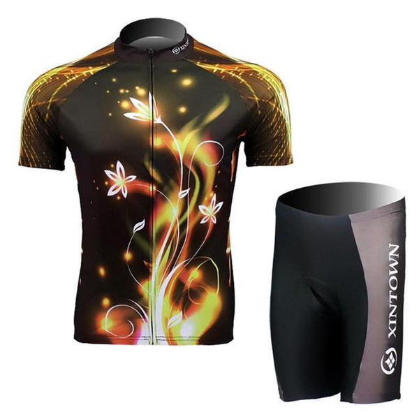 PINkart-USA Online Shopping Color 3 / S Dragon Cycling Jersey Set Men Summer Short Sleeve Mtb Bike Clothing Maillot Ciclismo Road Racing