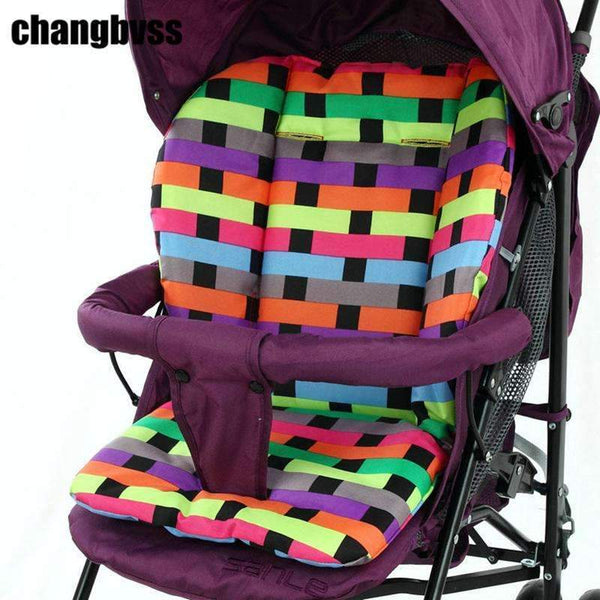 PinKart-USA Online Shopping Colorful Baby Seat Cushion Padding Liner,Kids Pushchair Cotton Mat,Breathable Pram High Chair Seat
