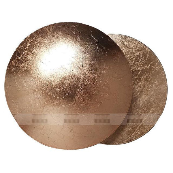 PINkart-USA Online Shopping copper foil Minimalist Personality Creative Aisle Corridor Wall Lamp Bedside Living Room Round Gold Silver