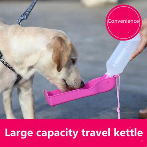 PINkart-USA Online Shopping Cw004 Potable Pet Dog Cat 350Ml Water Feeding Drink Bottle Dispenser Pet Portable Water Dispenser