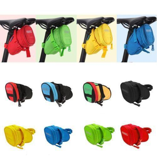 PINkart-USA Online Shopping Cycling Bike Bicycle Rear Seat Saddle 1L Tail 600D Bag Quick Release 8 Colors Available Free