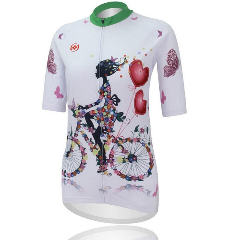 PINkart-USA Online Shopping Cycling Jersey Tops Ropa Ciclismo Summer Women'S Mtb Bike Jersey Shirts Cycling Clothing Maillot