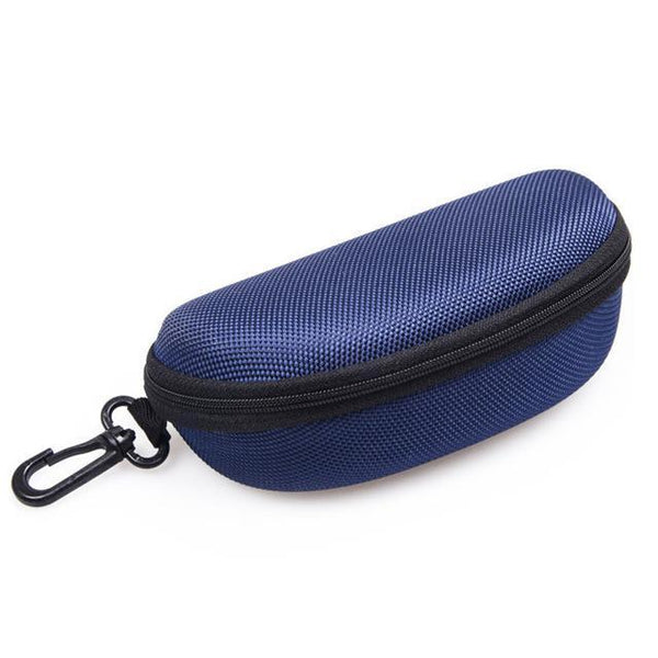 PINkart-USA Online Shopping Dark Blue 11 Colors Fashion Popular Portable Hard Hook Up Zipper Eyeglasses Eyewear Sunglasses Case Protector