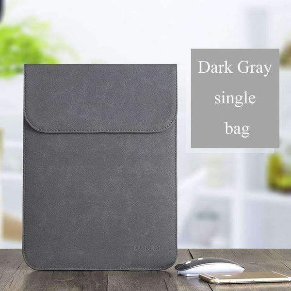 PinKart-USA Online Shopping Dark Gray 1 / for Xiaomi Air 12 Laptop Case Sleeve For Xiaomi Air 12 13 Inch Matte Leather Case For Xiaomi Mi Notebook Air