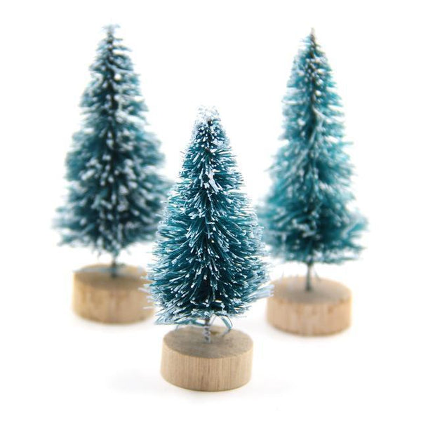 PinKart-USA Online Shopping Dark Green / 45mm 15Pcs Diy Christmas Tree 3Colors Small Pine Tree Mini Trees Placed In The Desktop Home Decor