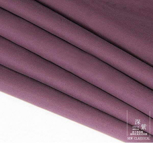 PinKart-USA Online Shopping Dark purple / King Chausub Quality Solid Color Flat Sheet 1Pc Satin Bed Sheets Cotton Bedding Bed Cover King Queen Siz