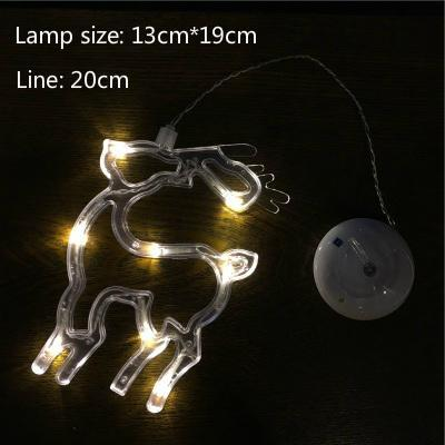 PINkart-USA Online Shopping Deer / White light Led Christmas Decorative For Home Year'S Day Holiday Light Deer /Bell /Stars/Tree 6.3In*7.5In