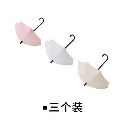 PINkart-USA Online Shopping Default Title 3Pcs/Lot Umbrella Shaped Creative Key Hanger Rack Home Decorative Holder Wall Hook For Kitchen