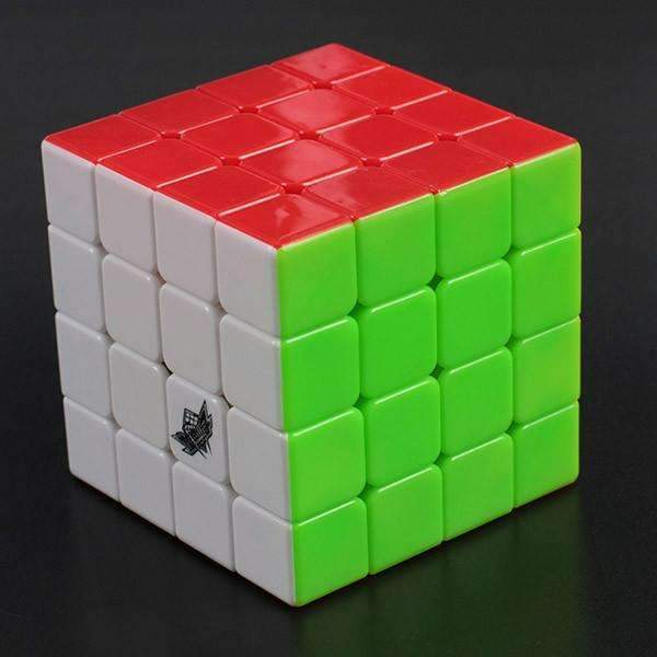 PinKart-USA Online Shopping Default Title 4X4X4 Cyclone Boys Magic Cube Puzzle Cubes Speed Cubo Square Puzzle No Sticker Rainbow Gifts
