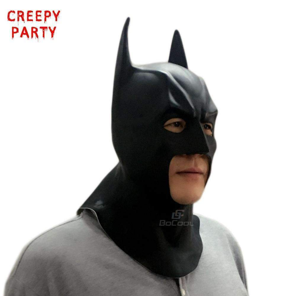 PinKart-USA Online Shopping Default Title Batman Masks Adult Full Face Halloween Mask Realistic Latex Party Mask Caretas Movie Bruce Wayne