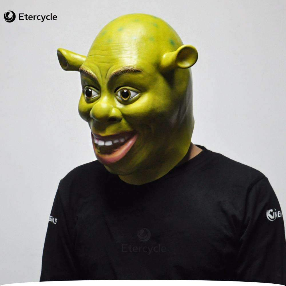 PinKart-USA Online Shopping Default Title Green Shrek Latex Masks Movie Cosplay Prop Adult Animal Party Mask For Halloween
