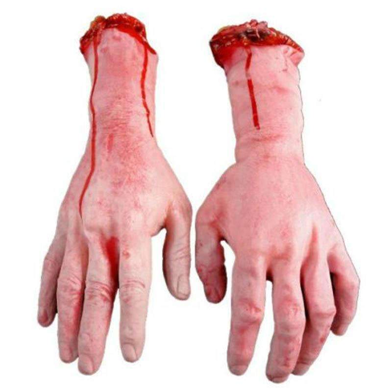 PinKart-USA Online Shopping Default Title Hot Sale 1Pc Severed Scary Cut Off Bloody Fake Latex Lifesize Arm Hand Halloween Prop Hot