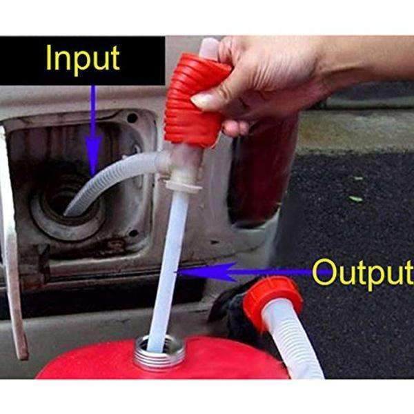 PinKart-USA Online Shopping Default Title Oem Hand Manual Gas Oil Water Liquid Transfer Pump Siphon Hose For Car Motorcyle Truck Car Liquid