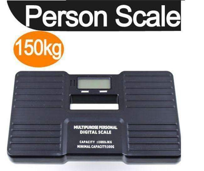 PinKart-USA Online Shopping Default Title Precision 150Kg 0.1Kg Personal Scales Electronic Bathroom Human Body Floor Scale Portable Body