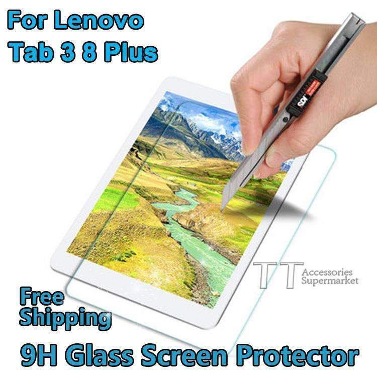 PinKart-USA Online Shopping Default Title Tempered Glass Screen Protector For Lenovo Tab 3 8 Plus Tb-8703 Tb-8703F Tb-8703N