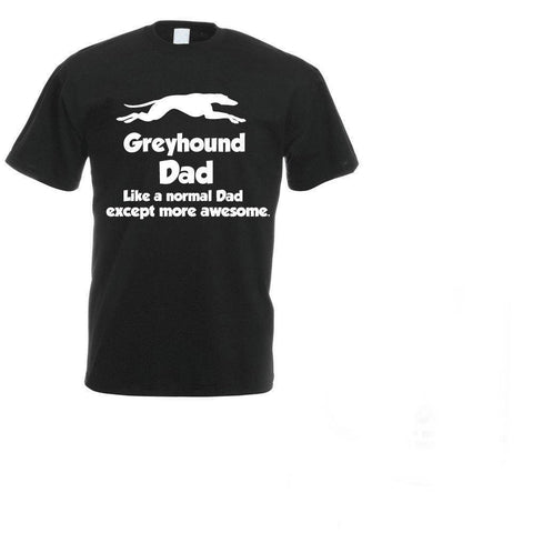 PINkart-USA Online Shopping Fashion Casual Men T-Shirt Funny Greyhound Dog T-Shirt - Greyhound Dad - Lurcher Father'S Day