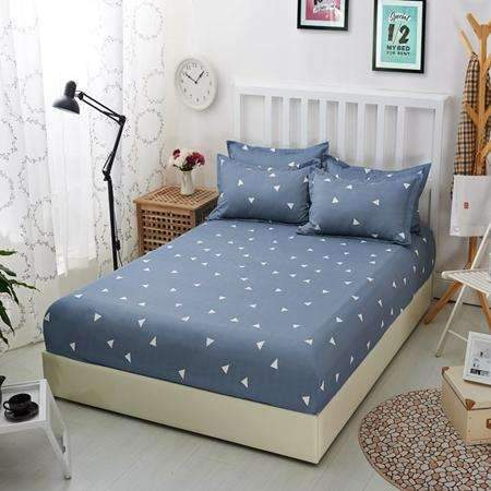 PinKart-USA Online Shopping Fitted Sheets 5 / 120x200x25CM 1Pcs Polyester Bedsheet Blue Night Sky Printed Bedding Fitted Sheet Mattress Cover Bed Sheet With
