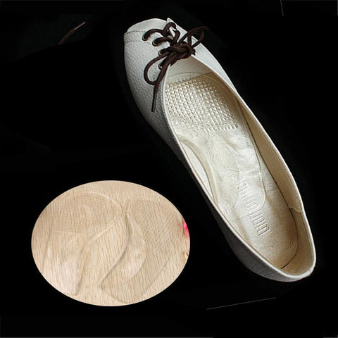 PINkart-USA Online Shopping Flat Feet Orthotic Arch Support Silicone Gel Pads Non-Slip Pain Relief Shoes Insoles Cushion