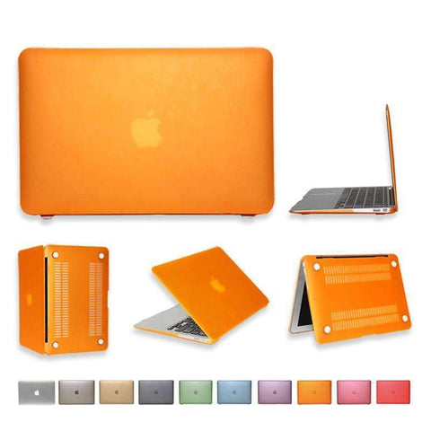 PinKart-USA Online Shopping For Apple Macbook Air 13 Case Matte Transparent Air Pro Retina 11 12 13 15 Protective Cover+