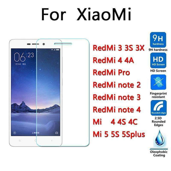 PinKart-USA Online Shopping for redmi 3 3s 3x / Tempered Glass Top Quality 9H 0.26Mm Screen Protection Tempered Glass For Xiaomi Redmi 3 3S 3X Pro 4 4A Nota 2 Not
