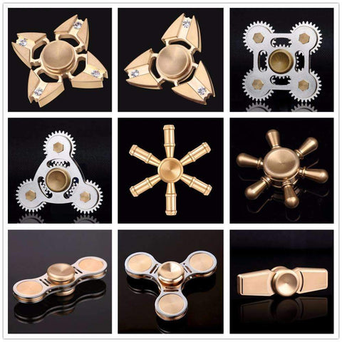 PinKart-USA Online Shopping For TL1 Fidget Spinner Metal Finger Spinner Hand Spinner Spin With Metal Box Relieve Stress