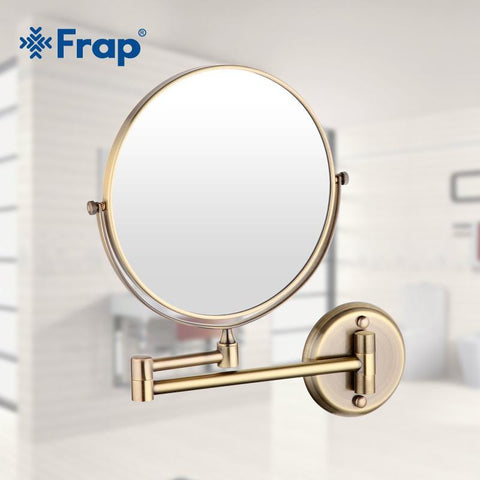 "PinKart-USA Online Shopping Frap 1 Set 8"" Wall Mounted Vintage Antique Professional Vanity Mirror Bathroom Round"