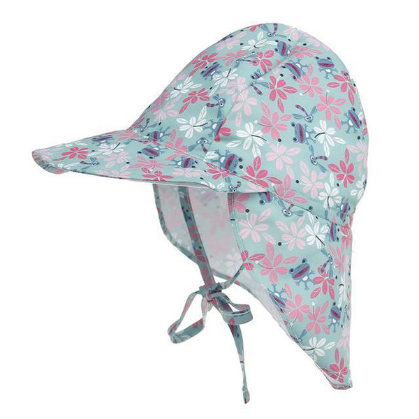 PINkart-USA Online Shopping frog Summer Baby Hat Sun Protection Swimming Cap Outdoor Uv Protection Sun Beach Hats Boys Girls