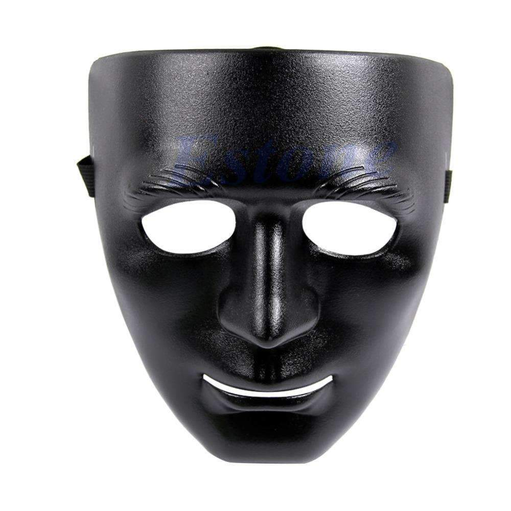 PinKart-USA Online Shopping Full Face Plastic Plain Thick Mask Costume Party Dance Crew For Hip Hop Dance/Opera