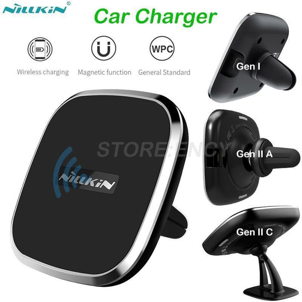 PinKart-USA Online Shopping GEN 1 Nillkin Qi Wireless Charger Pad Car Charger For Samsung Galaxy Note 8 S8 S8+ Wireless Charging Phon