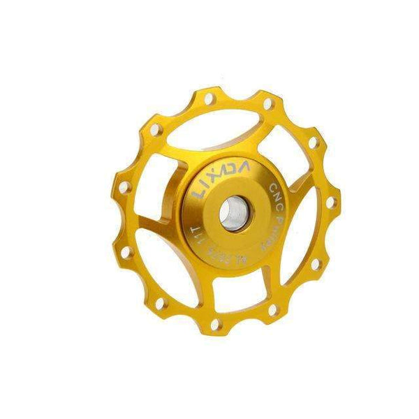 PinKart-USA Online Shopping Gold / China Rode Bicycle Chain Rerailleur Mtb Bike Rear Derailleur Aluminum 11T Guide Roller Idler Pulley Jocke