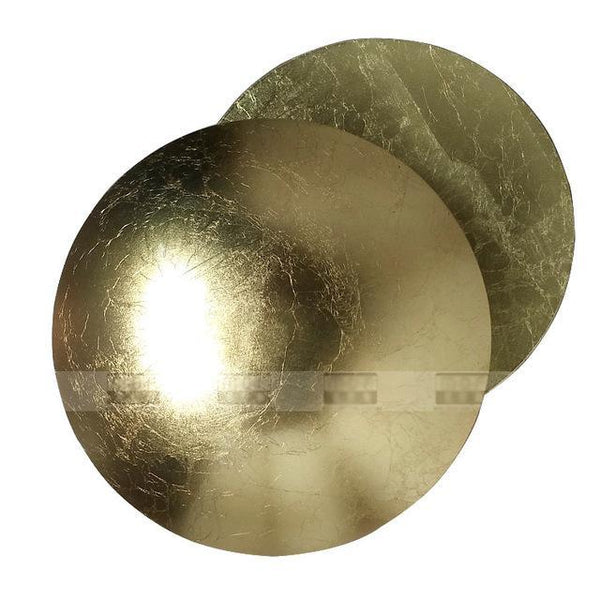 PINkart-USA Online Shopping gold foil Minimalist Personality Creative Aisle Corridor Wall Lamp Bedside Living Room Round Gold Silver