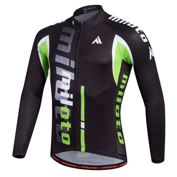PINkart-USA Online Shopping Gold / L Breathable Pro Racing Cycling Jersey Roupa De Ciclismo Winter Long Sleeve Bicycle Cycling