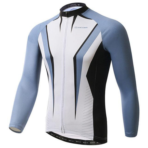 PINkart-USA Online Shopping Gray / L Pro Racing Cycling Jersey Long Sleeve Bike Team Bicycle Cycling Clothing Ropa Invierno