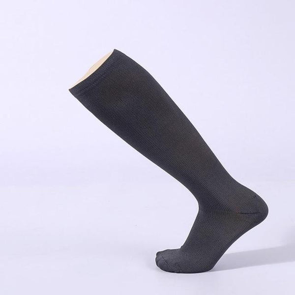 PINkart-USA Online Shopping Gray / S Hot Unisex Compression Stockings Pressure Nylon Varicose Vein Stocking Knee High Leg Support