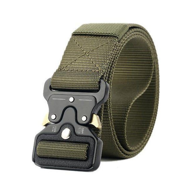 PINkart-USA Online Shopping Green / 125cm Ping Mens Tactical Belt Military Nylon Belt Outdoor Multifunctional Training Belt Combat Belts