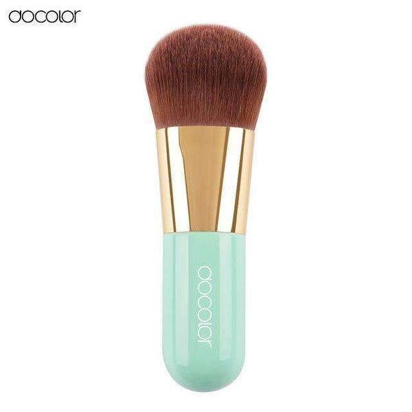 PinKart-USA Online Shopping Green Best Foundation Brush Pink And Green Makeup Brush With Box Fast Make Up Brushes Beauty Essential