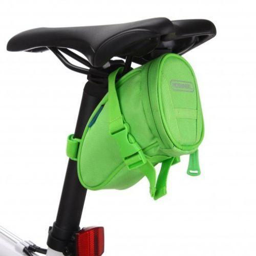 PINkart-USA Online Shopping Green Cycling Bike Bicycle Rear Seat Saddle 1L Tail 600D Bag Quick Release 8 Colors Available Free