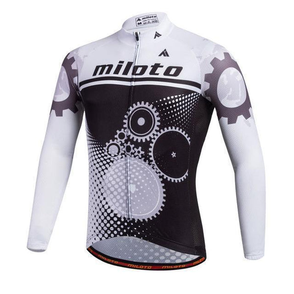 PINkart-USA Online Shopping Green / L Breathable Pro Racing Cycling Jersey Roupa De Ciclismo Winter Long Sleeve Bicycle Cycling