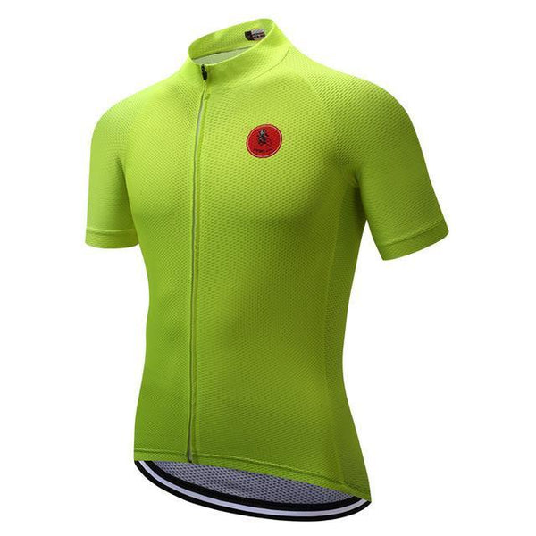 PINkart-USA Online Shopping Green / S Cycling Jersey Tops Racing Sport Bike Jersey Shirts Mtb Cycling Clothing Bicycle Sportswear Maillot